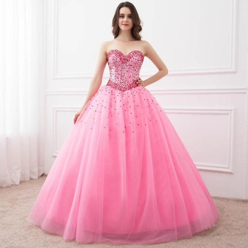 Just In Stock 2019 100% Real Organza Ruffled Red Quinceanera Dresses Ball Gown With Bead Sweet 16 Dresses Vestidos De 15 Anos High Standard In Quality And Hygiene Quinceanera Dresses