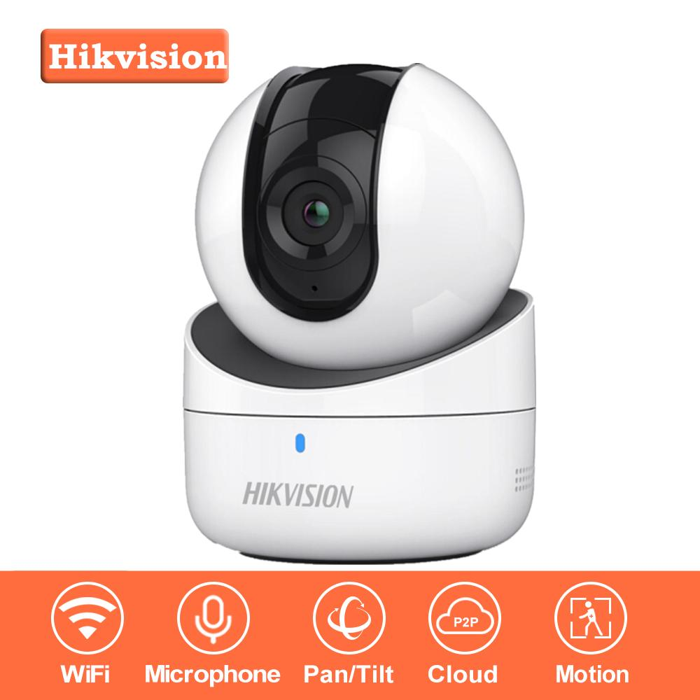 In Stock Hikvision Mini Wifi Camera 720P Cmos Wireless Ip Camera  Ds-2Cv2Q01Fd-Iw Wi-Fi Network Pt