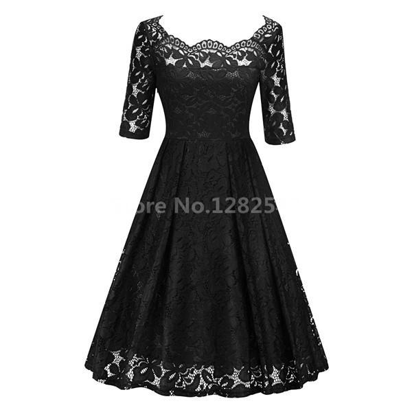 In Stock Navy Blue Cocktail Dresses Elegant Short Little Black Dress