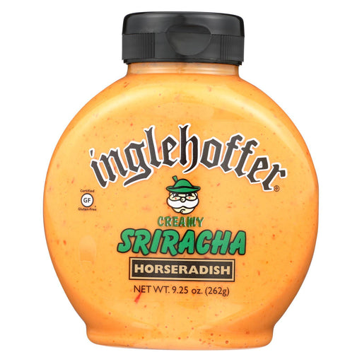 Inglehoffer - Creamy Sriracha Horseradish Sauce - Case Of 6 - 9.25 Oz.-Eco-Friendly Home & Grocery-Inglehoffer-EpicWorldStore.com