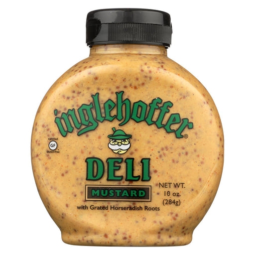Inglehoffer - Mustard Deli Squeeze - Case Of 6 - 10 Oz-Eco-Friendly Home & Grocery-Inglehoffer-EpicWorldStore.com