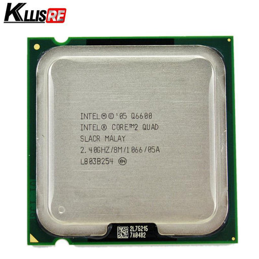 Intel Core 2 Quad Q6600 2.4Ghz Quad-Core Fsb 1066 Desktop Lga 775 Cpu Processor-Computer Components-PC Technology-EpicWorldStore.com