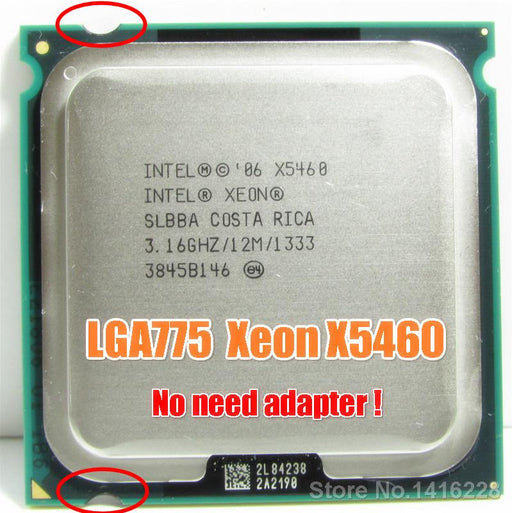Intel Xeon X5460 Processor 3.16Ghz 12Mb 1333Mhz Close To Q9650 Works On Lga775 Mainboard-Computer Components-CPU TOP Store-EpicWorldStore.com