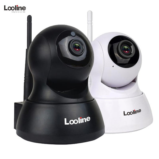 Ip Camera Wi-Fi Wifi Looline Mini Cctv Security Camera System Module Sd Card Record Night Vision-looline Official Store-Black-EpicWorldStore.com