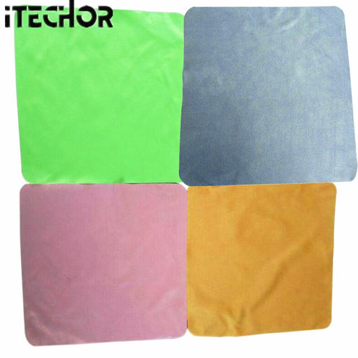 Itechor 4Pcs Large Microfiber Cleaning Cloth For Screens, Lenses, Glasses 20*20Cm-Color Random-Household Cleaning-Ideas Life Store-EpicWorldStore.com