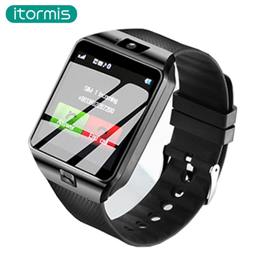 Itormis Bluetooth Smart Watch Phone Smartwatch With Pedometer Touch Screen Camera Support Tf Sim-itormis Store-Silver White-Standard-EpicWorldStore.com