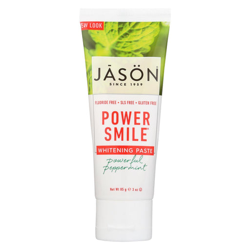 Jason Natural Products Toothpaste - Powersmile - Antiplaque And Whitening - Powerful Peppermint -Eco-Friendly Home & Grocery-Jason Natural Products-EpicWorldStore.com