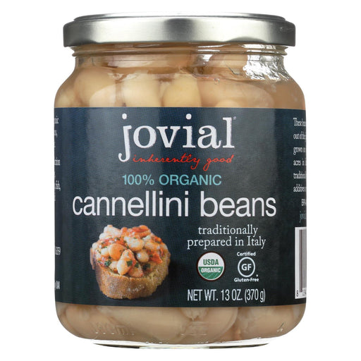 Jovial - 100 Percent Organic Cannellini Beans - Case Of 6 - 13 Oz.-Eco-Friendly Home & Grocery-Jovial-EpicWorldStore.com