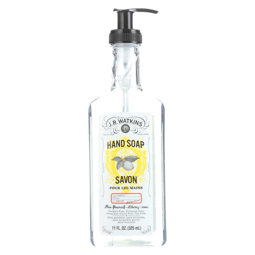J.R. Watkins Liquid Hand Soap Lemon - 11 Fl Oz - Case Of 6-Eco-Friendly Home & Grocery-J.r. Watkins-EpicWorldStore.com