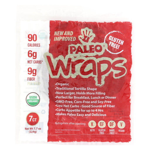 Julian Bakery Paleo Wrap Organic Coconut Wraps - Case Of 12 - 3.5 Oz.-Eco-Friendly Home & Grocery-Julian Bakery-EpicWorldStore.com