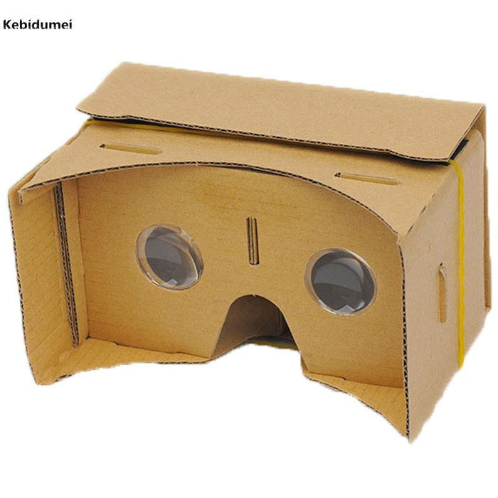 Kebidumei Diy Google Cardboard 3D Vr Box Reality Glasses Vr Mobile Phone 3D  For 5 0