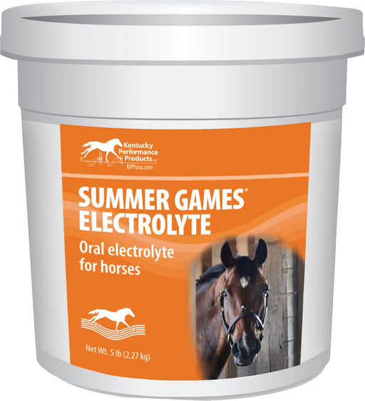 Kentucky Performance Prod - Summer Games Electrolyte Supplement For Horses-Pet-Kentucky Performance Prod-5 POUND-EpicWorldStore.com