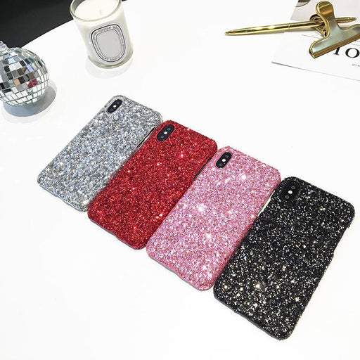 Kerzzil Luxury Bling Glitter Shining Flash Powder Cases For Iphone 7 6 6S Plus Pc Hard Cover Back-Phone Bags & Cases-Lifone Fashion-Red-For iPhone 6 6s-EpicWorldStore.com