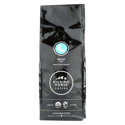 Kicking Horse Coffee - Whole Bean - Decaf - Case Of 6 - 10 Oz.-Eco-Friendly Home & Grocery-Kicking Horse-EpicWorldStore.com