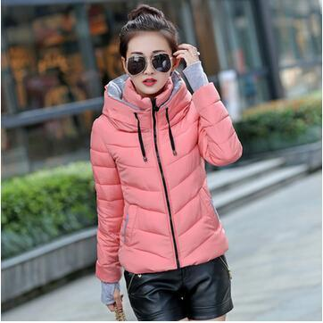 Kids Girls Coat Winter Jacket Outerwear Short Wadded Jacket Female Padded Parka Overcoat-Jackets & Coats-Women's 77 Store-pink-M-EpicWorldStore.com