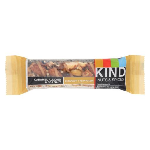 Kind Bar - Caramel Almond And Sea Salt - 1.4 Oz Bars - Case Of 12-Eco-Friendly Home & Grocery-Kind-EpicWorldStore.com