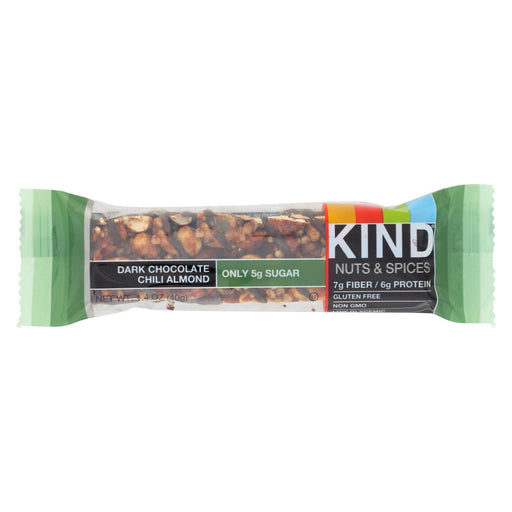 Kind Bar - Dark Chocolate Chili Almond - 1.4 Oz Bars - Case Of 12-Eco-Friendly Home & Grocery-Kind-EpicWorldStore.com