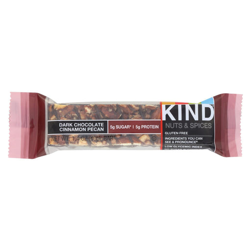 Kind Bar - Dark Chocolate Cinnamon Pecan - 1.4 Oz Bars - Case Of 12-Eco-Friendly Home & Grocery-Kind-EpicWorldStore.com