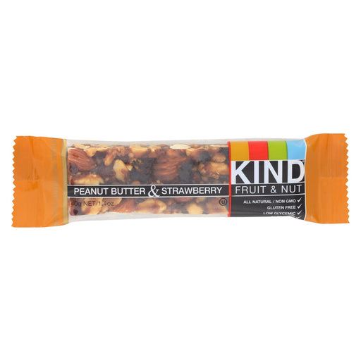 Kind Bar - Peanut Butter And Strawberry - Case Of 12 - 1.4 Oz-Eco-Friendly Home & Grocery-Kind-EpicWorldStore.com