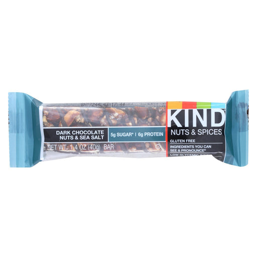 Kind Fruit And Nut Bars - Dark Chocolate Nuts And Sea Salt - 1.4 Oz - Case Of 12-Eco-Friendly Home & Grocery-Kind-EpicWorldStore.com