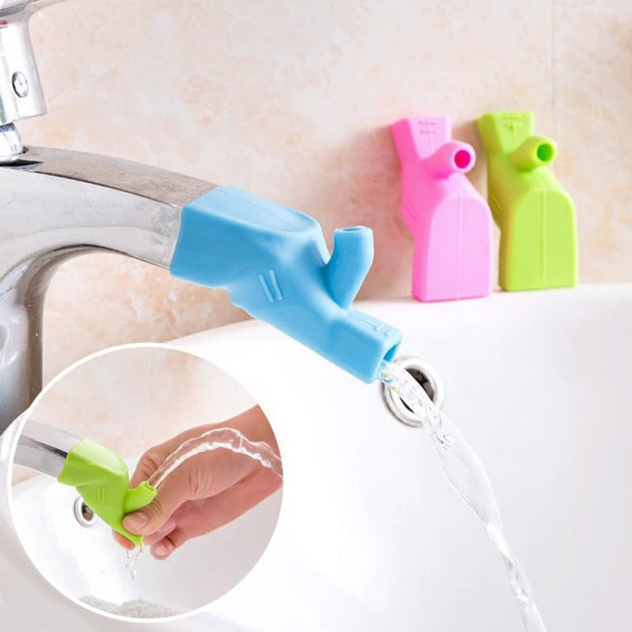Kitchen Durable Toddler Baby Washing Hands Faucet Extender For Kids Bathroom Fountain Food-Grade-Sanitary Ware Suite-Beautiful Life house improvement Store-Green-EpicWorldStore.com