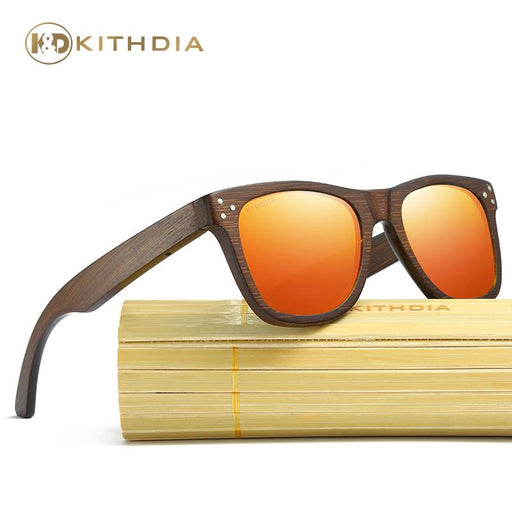 Kithdia Brand Designer Men Wood Bamboo Sunglasses New Polarized Wood Sun Glasses Wood Box Retro-KITHDIA Official Store-1-EpicWorldStore.com