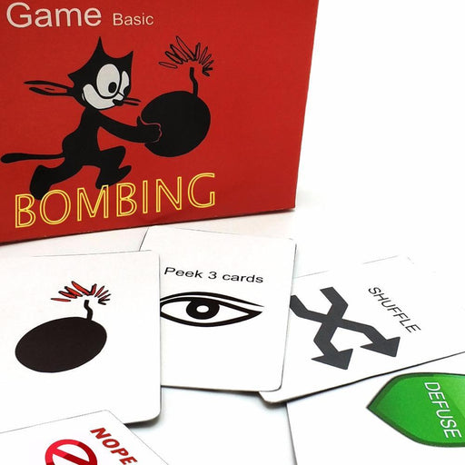 Kittens Game Basic, Not Safe Edition Card Game, Expansion For Home Party Family Fun Board Game-Entertainment-Board Game Club-A-Basic-EpicWorldStore.com