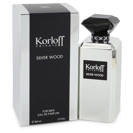 Korloff Silver Wood By Korloff Eau De Parfum Spray 3 Oz For Men