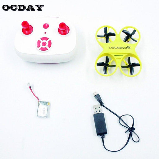 L6065 Mini Rc Quadcopter Infrared Controlled Drone 2.4Ghz Aircraft With Led Light Birthday Gift-RC Toy Fans Store-Red-EpicWorldStore.com