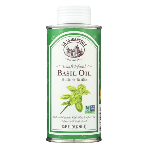 La Tourangelle French Infused Basil Oil - Case Of 6 - 8.45 Fl Oz.-Eco-Friendly Home & Grocery-La Tourangelle-EpicWorldStore.com