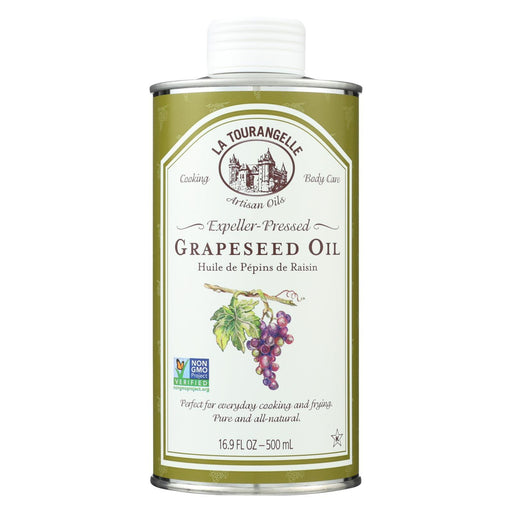 La Tourangelle Grapeseed Oil - Case Of 6 - 16.9 Fl Oz.-Eco-Friendly Home & Grocery-La Tourangelle-EpicWorldStore.com