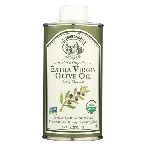 La Tourangelle Organic Extra Virgin Olive Oil - Case Of 6 - 16.9 Fl Oz.-Eco-Friendly Home & Grocery-La Tourangelle-EpicWorldStore.com