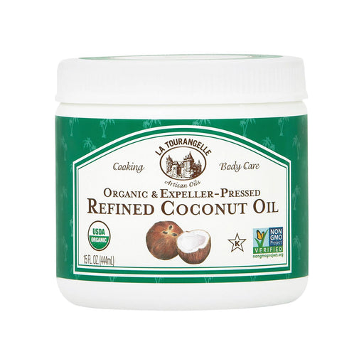 La Tourangelle Refined Coconut Oil - Case Of 6 - 15 Fl Oz.-Eco-Friendly Home & Grocery-La Tourangelle-EpicWorldStore.com