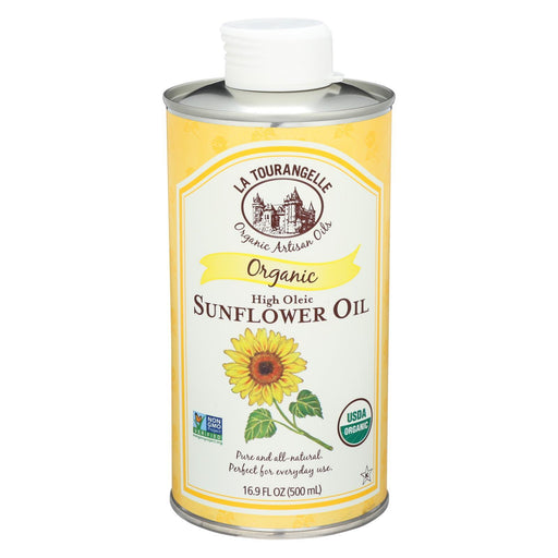 La Tourangelle Sunflower Oil - Case Of 6 - 16.9 Fl Oz.-Eco-Friendly Home & Grocery-La Tourangelle-EpicWorldStore.com