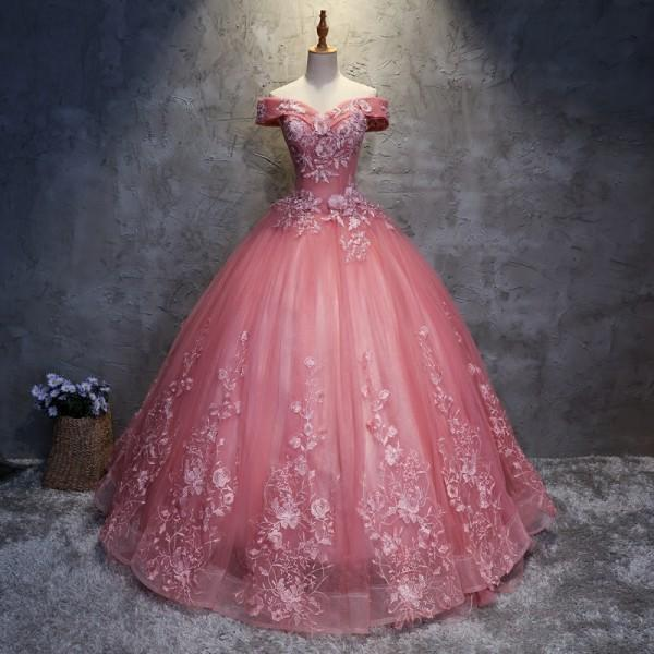 Lace Quinceanera Dresses Sweet 16 Dresses For 15 Years Off Shoulder ...