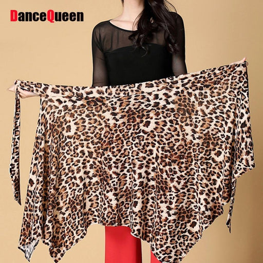 Lady Latin Dance Skirt Red/Black/Leopard Cha Cha/Rumba/Samba/Tango Dresses For Dancing-Stage & Dance Wear-Shantou Dancing Queen Garment Co.,LTD-Black skirt-EpicWorldStore.com