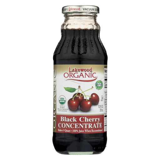 Lakewood Organic 100 Percent Fruit Juice Concentrate - Black Cherry - 12.5 Oz-Eco-Friendly Home & Grocery-Lakewood-EpicWorldStore.com