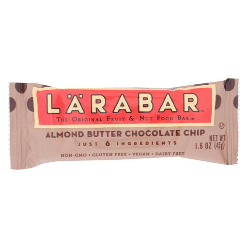 Larabar - Original Fruit And Nut Bar - Almond Butter Chocolate Chip - Case Of 16 - 1.6 Oz.-Eco-Friendly Home & Grocery-Larabar-EpicWorldStore.com