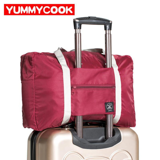 Large Casual Travel Bags Clothes Luggage Storage Organizer Collation Puch Cases Suitcase Accessories-Home Storage & Organization-YUMMYCOOK Store-wine red-EpicWorldStore.com