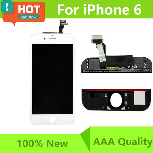 Lcd Display Digitizer For Iphone 6 6S 6 Plus 6S Plus Touch Screen Complete For Iphone 6 Plus Lcd-Mobile Phone Parts-Ruskita Mobile Phone Parts-For 6 Black-EpicWorldStore.com