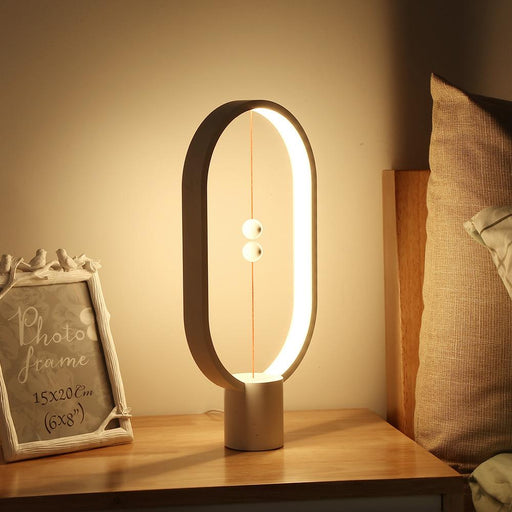 Led Balance Lamp Night Light Usb Powered Home Decor Bedroom Office Night Lamp Novel Light-LED Night Lights-TRENDSGAL-White-EpicWorldStore.com