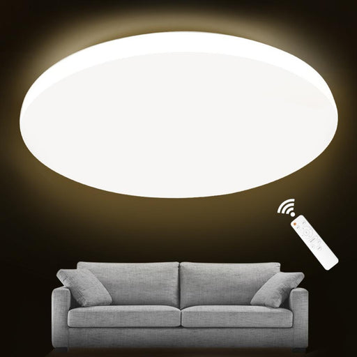 Led Ceiling Light Lighting Fixture Modern Lamp Living Room Bedroom Kitchen Bathroom Surface Mount-Ceiling Lighs & Fans-iminovohome Store-Diameter 20cm-12W-RC Dimmable-EpicWorldStore.com