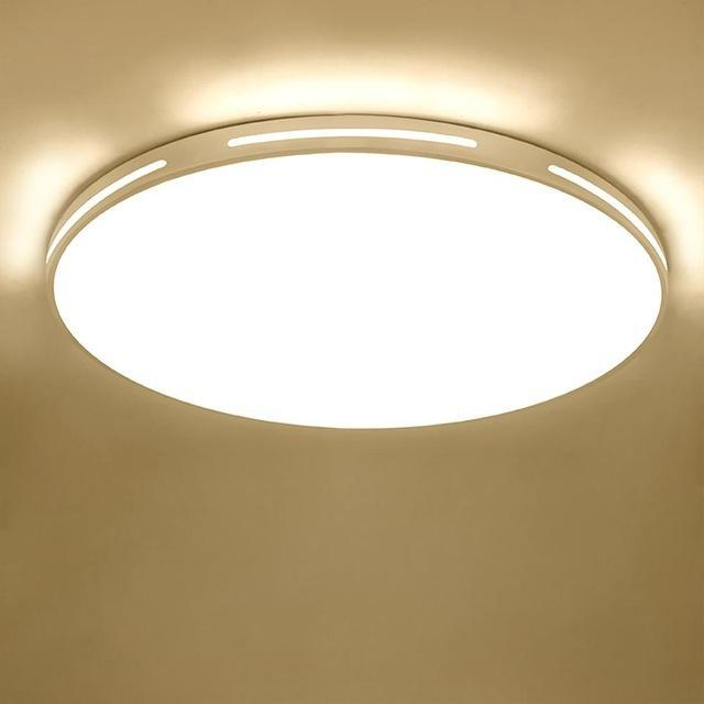 Led Ceiling Light Modern Lamp Panel Living Room Round Lighting Fixture  Bedroom Kitchen Hall
