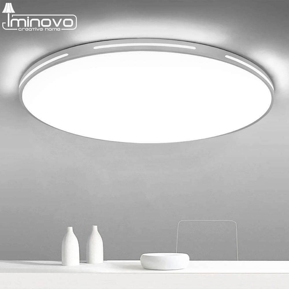 Led ceiling light modern lamp panel living room round lighting fixture bedroom kitchen hall ceiling