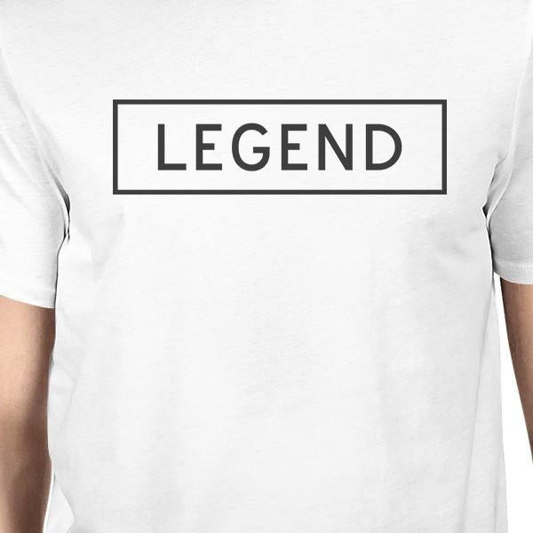 f1b8d5a12d Legend Legacy White Dad Baby Funny Matching Graphic Tops Cute Gifts-Apparel  & Accessories-