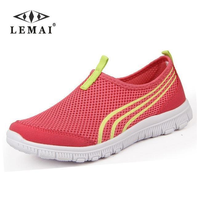 Lemai New Men Casual Shoes, Mens Flats Shoes Men Breathable Lovers Casual Shoes Size-Shoe Accessories-LEMAI Official Store-001 pink-5-EpicWorldStore.com