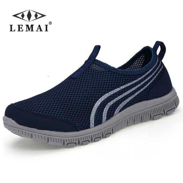 Lemai New Men Casual Shoes, Mens Flats Shoes Men Breathable Lovers Casual Shoes Size-Shoe Accessories-LEMAI Official Store-002 dark blue-5-EpicWorldStore.com