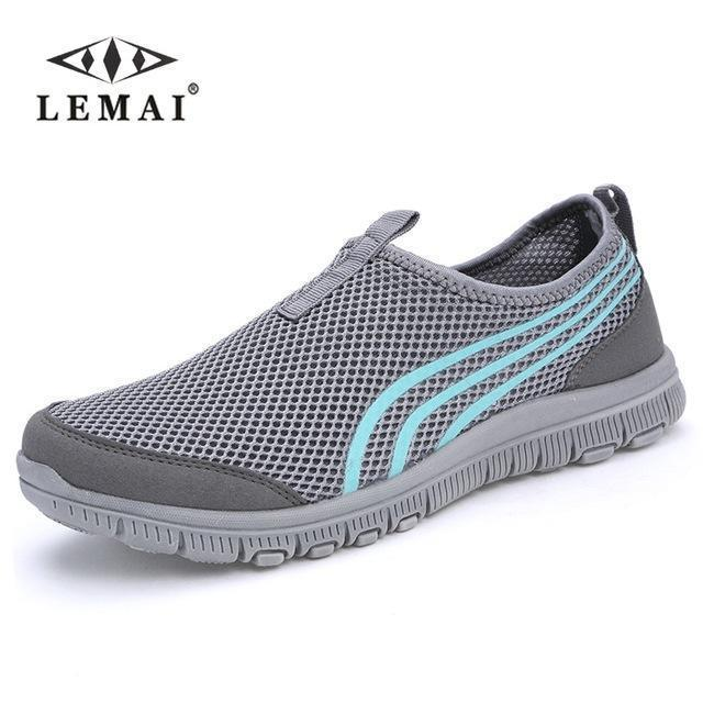 Lemai New Men Casual Shoes, Mens Flats Shoes Men Breathable Lovers Casual Shoes Size-Shoe Accessories-LEMAI Official Store-002 dark gray-5-EpicWorldStore.com