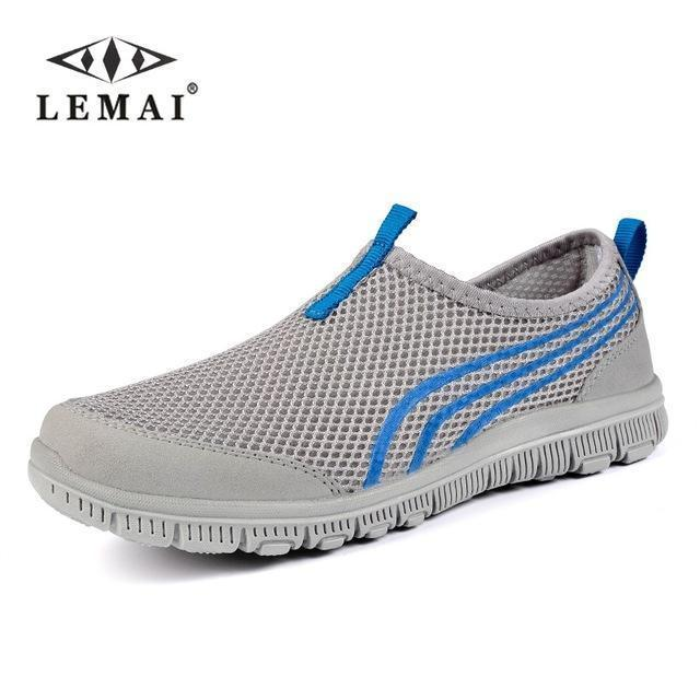 Lemai New Men Casual Shoes, Mens Flats Shoes Men Breathable Lovers Casual Shoes Size-Shoe Accessories-LEMAI Official Store-002 white blue-5-EpicWorldStore.com
