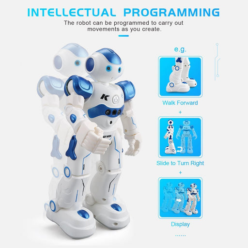 Leory Rc Robot Intelligent Programming Remote Control Robotica Toy Biped Humanoid Robot For Children-Robot-H-Duby Team-Blue-EpicWorldStore.com